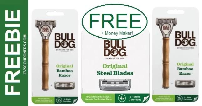 FREE Bulldog Razor & Refill CVS Deals 5-16-5-22