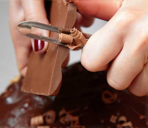 шоколадная стружка фото