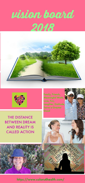 How to Create an Inspiring Vision Board by Colors 4 Health