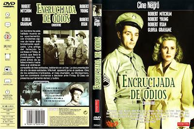 Carátula dvd: Encrucijada de odios