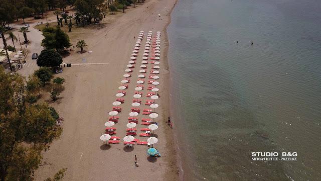 Άνοιξαν οι παραλίες στην Αργολίδα αλλά οι επιχειρήσεις δεν μπορούν να λειτουργήσουν (βίντεο)