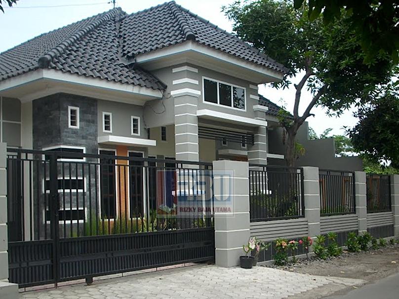 Pagar Besi Rumah Modern  Memilih Pagar Rumah  Minimalis
