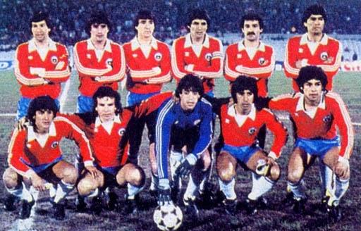 Formación de Chile ante Uruguay, Copa América 1983, 1 de septiembre