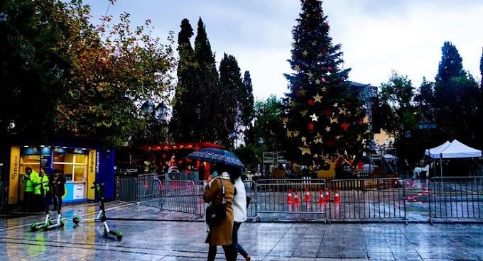 Βροχερός ο καιρός των Χριστουγέννων - Παγωνιά και πτώση θερμοκρασίας μετά