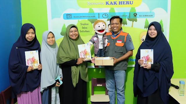 Cegah Ketergantungan Anak Pada Gadget, SIT Al Hikmah Palopo Gelar Workshop Dongeng