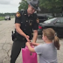 This Little Girl Set Up A Lemonade Stand To Buy An Ipad. What the officer did will surprise you!