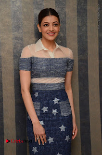 Actress Kajal Agarwal Latest Stills at Khaidi No 150 Movie Interview  0165.JPG