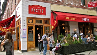 restaurant Pastis à Manhattan