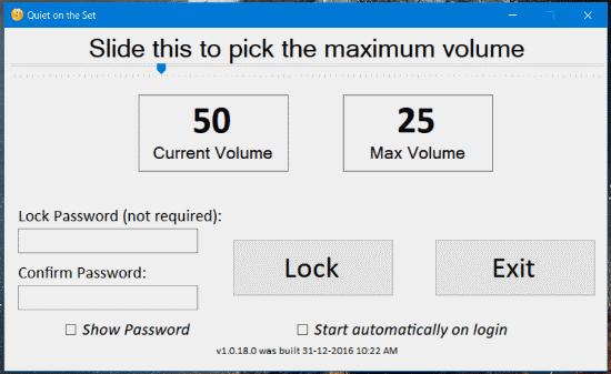 limit-maximum-volume