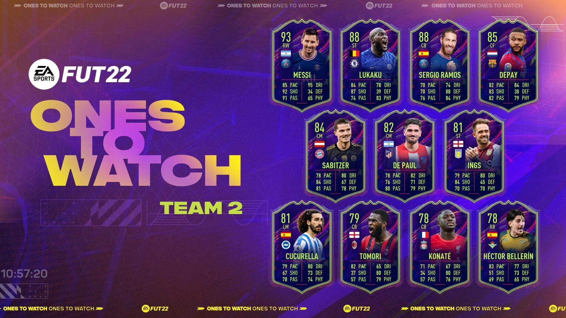 Druga drużyna OTW FIFA 22