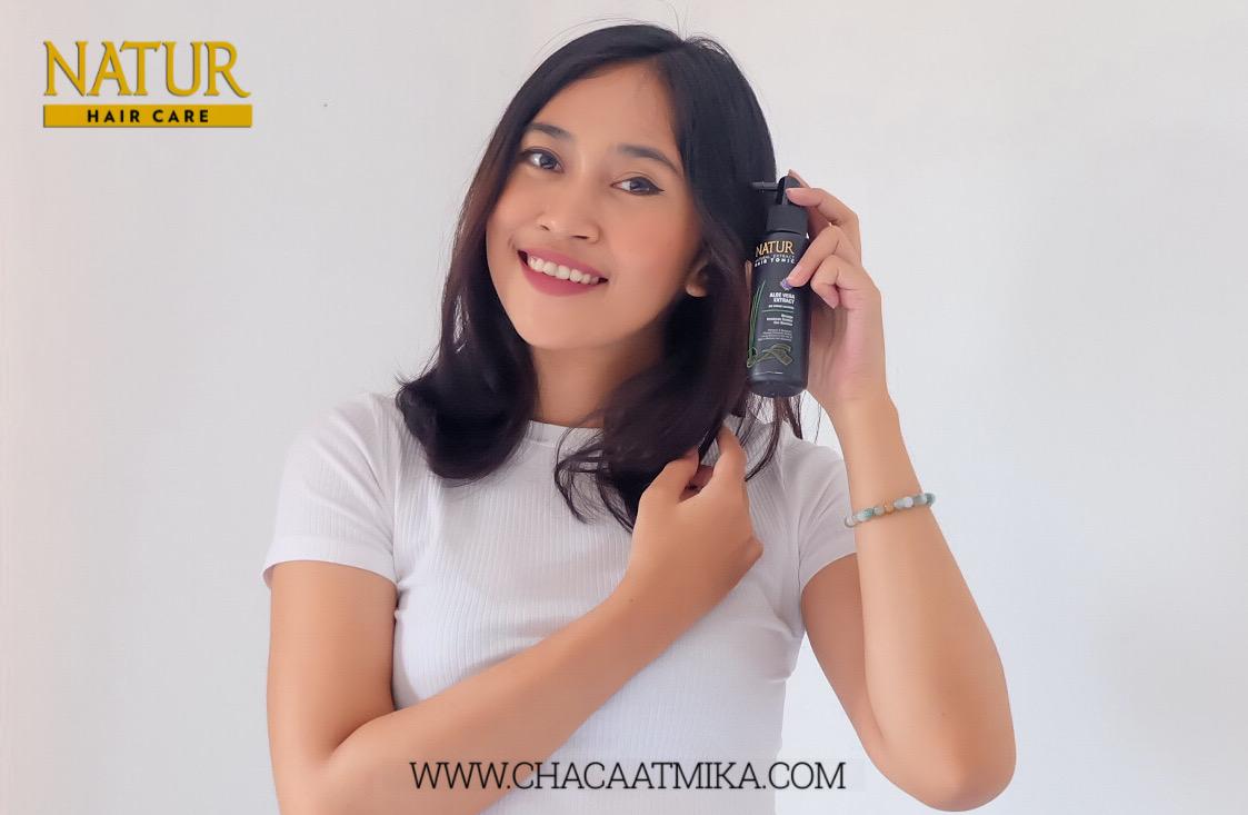 Review Natur Hair Tonic Aloe Vera