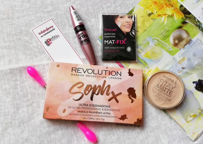 makeup revolution sophx