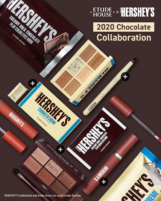 (K-Beauty) Etude House x Hershey's : Une collection pour les gourmands !
