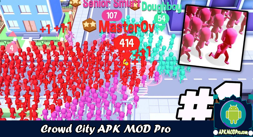 Download Crowd City MOD APK 1.3.9 ( Full Skins & No Ads ) Latest 2020