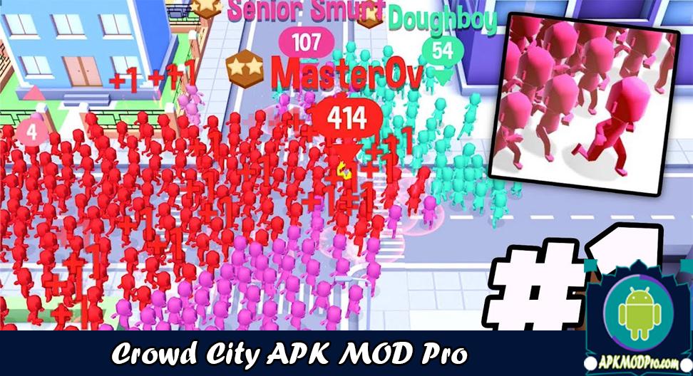 Download Crowd City MOD APK 1.3.9 ( Full Skins & No Ads ) Latest 2020