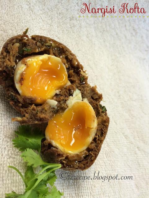 Nargisi Kofta / Indian Scotch Eggs