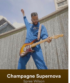 Ebony Son Management Artist Spree Wilson releases New Single and Visual - Champagne Supernova!