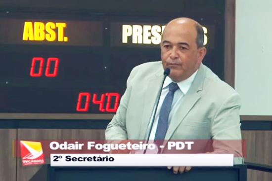 Fogueteiro teve apoio de todos os vereadores no Refis do IPTU. Café com Jornalista