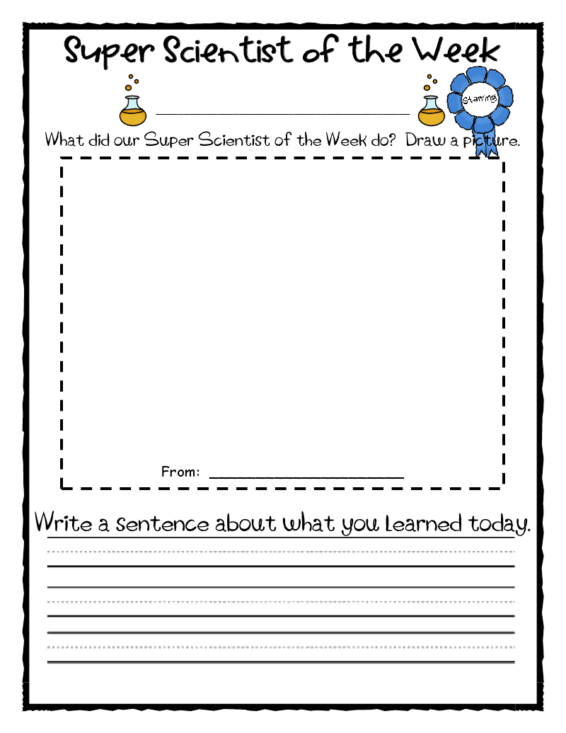 scientific papers writing guidelines printable first grade
