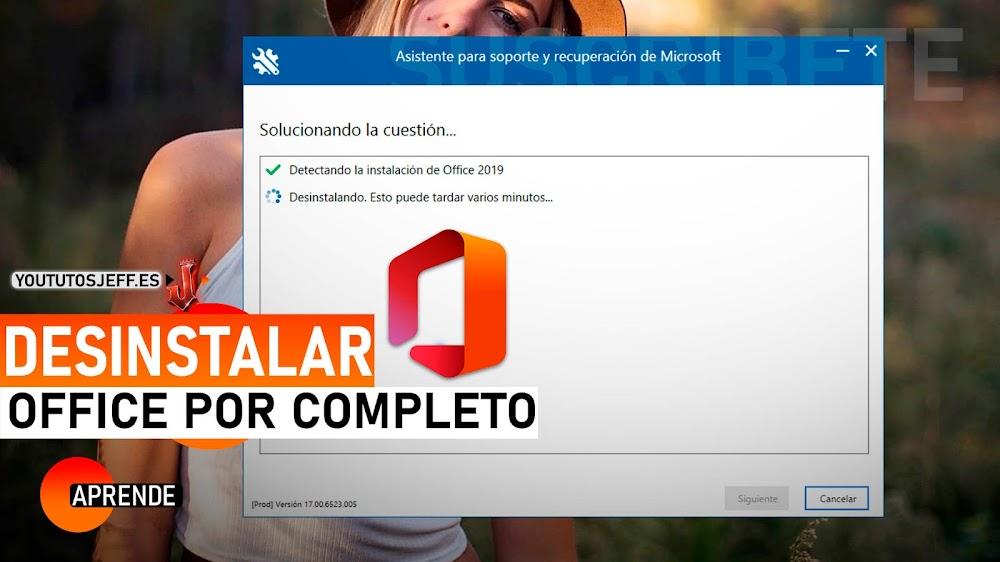 Desinstalar OFFICE POR COMPLETO Sin Dejar Rastro