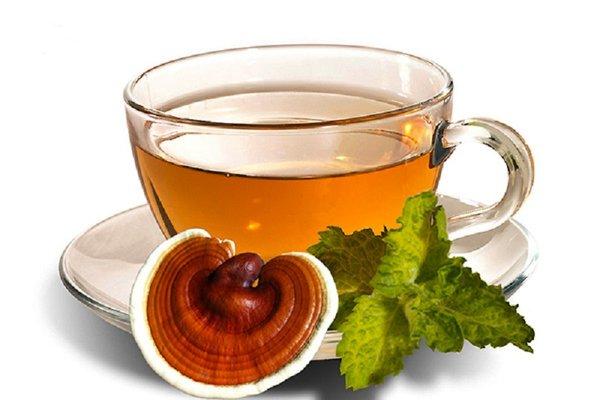 Nấu nước nấm linh chi uống tác dụng tốt cải thiện viêm da