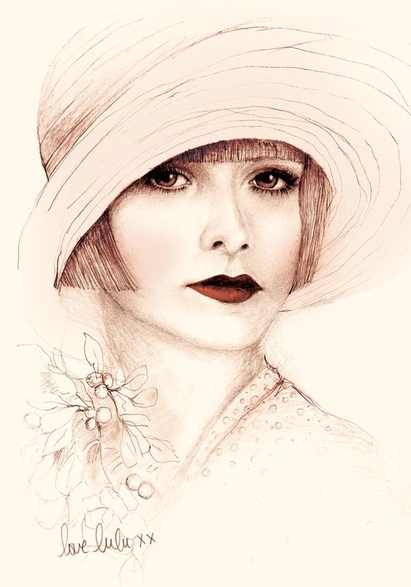 Bec Winnel Fashion Illustrator Tutt Art Pittura