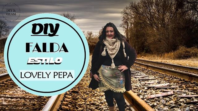 Diy falda cruzada a lo Lovely Pepa
