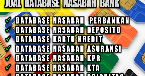 Database nasabah forex