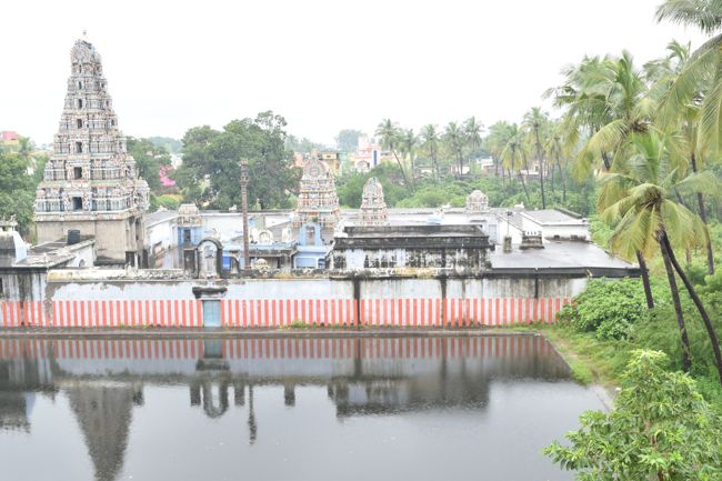 Aerial View Of Sri Kovur Sundareswarar Temple
