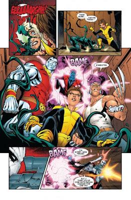 """Un vistazo a las primeras páginas de """"Venomized"""" - Marvel Comics"""