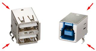 حل مشاكل منافذ USB