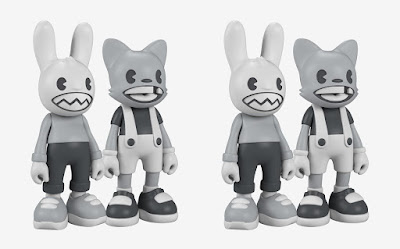 Lil' Helpers Janky & Guggi Vinyl Figures by Superplastic