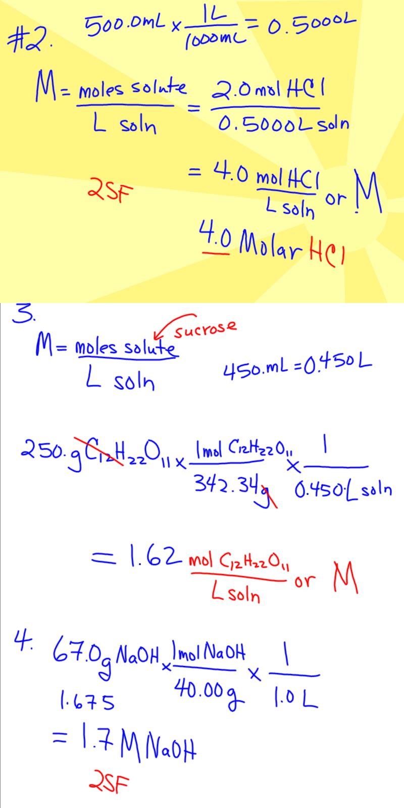 chemistry concentration and molarity lab • determine the molarity of an unknown  • pre-lab questions (if  titration describes a process where the concentration of an unknown substance is.