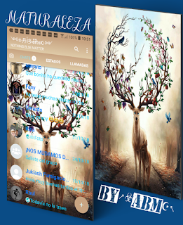 Reindeer Theme For YOWhatsApp & Fouad WhatsApp By ABM