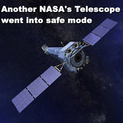 gyroscope failure problem with nasa chandra space telescope