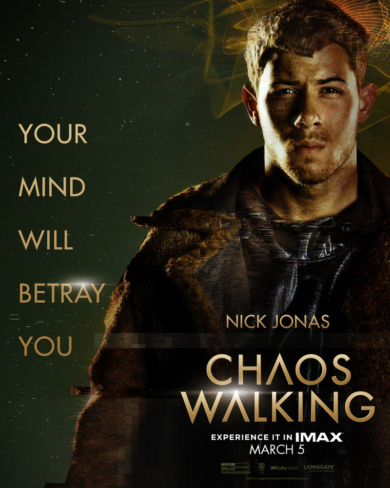 chaos walking poster nick jonas