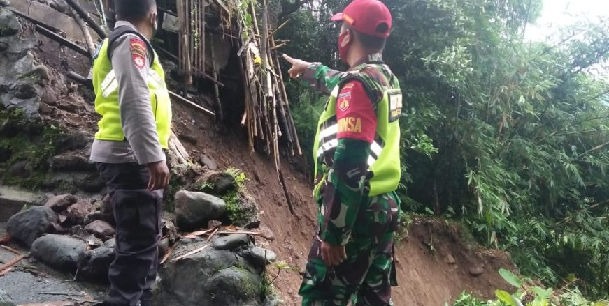 Terjadi Longsor di Tiga Desa, Kecamatan Bobotsari, Ini Daftar Rinciannya