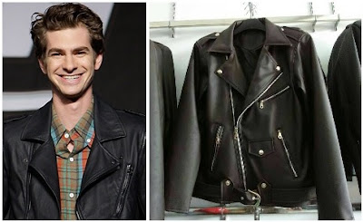 Gambar Peter Parker Leather Jacket