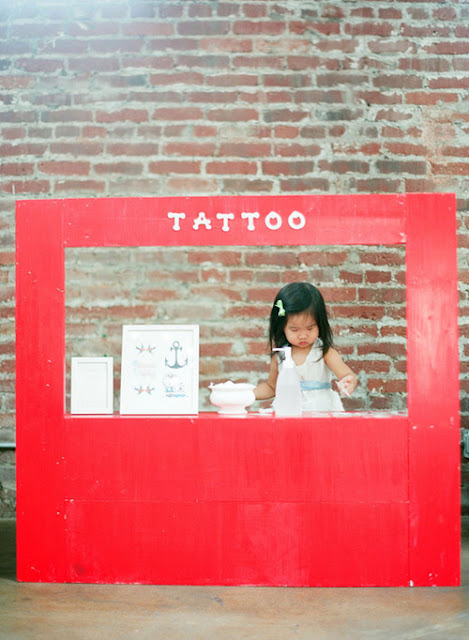 Once Upon A Crafty Mom Tattoo Stand For Kids