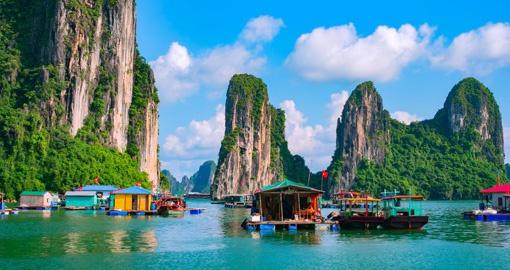 Ha Long Bay, My Son, Hanoi, Ho Chi Minh (Vietnam)