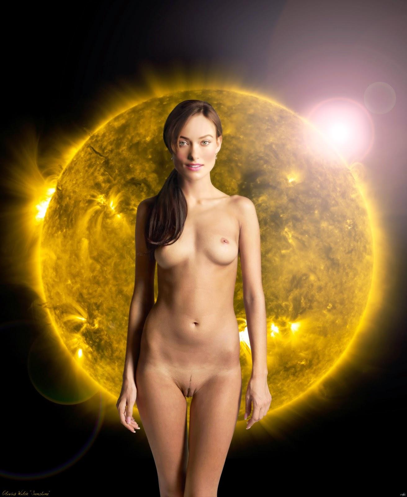 Celebrity fakes olivia wilde nude