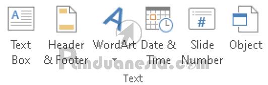 Fungsi Icon Text