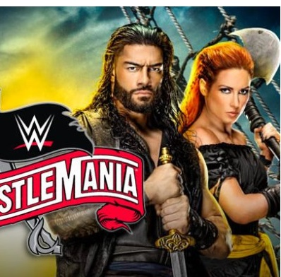 WWE WrestleMania (36 PPV Part 2) full hd 480p HDTV 550MB