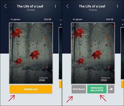 Cara Membuat Wallpaper 3D Bisa Bergerak di Android