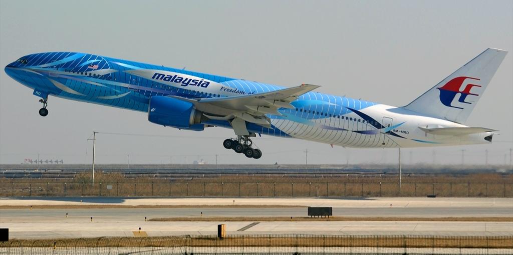 Sunn Aero: Malaysia Airlines' Boeing 777