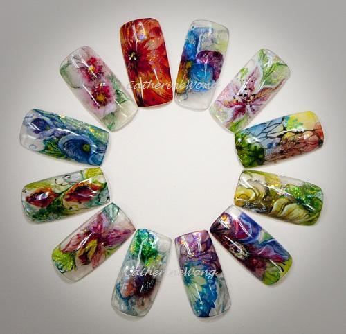 Nail Art Beauty Spa: NAILQUEEN: Mixed Media Nail Art For Salon