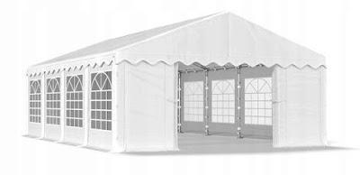 namiot weselny ogrodowy 4 m x 8 m wypożyczalnia dekoracji rzeszów ślubnażyczenie