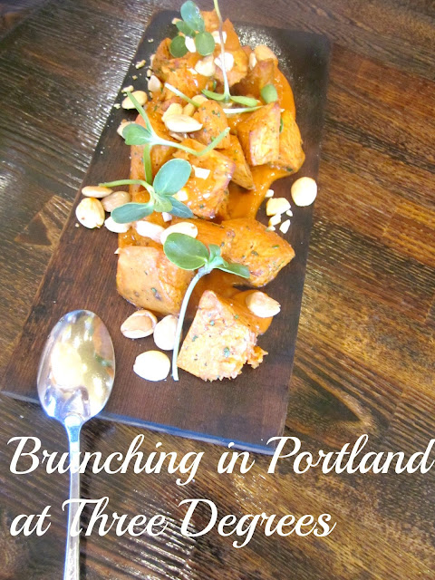 Brunching in Portland at Three Degrees