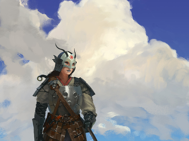 A incrível arte digital de Mingchen Shen