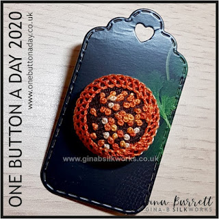 One Button a Day 2020 by Gina Barrett - Day 66: Bobble